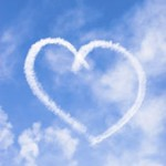 Une coeur dans le ciel