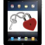 Son coeur sur une tablette