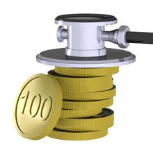 Monnaie et Stéthoscope